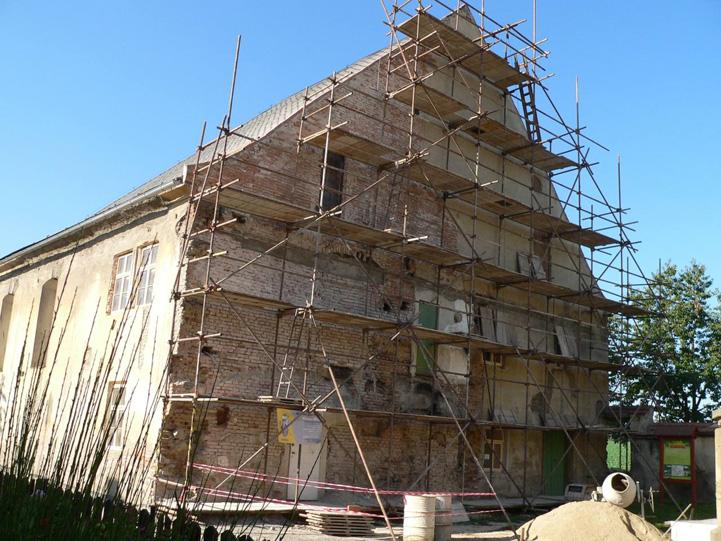 בית הכנסת של פאני נוידא Photo: Lostice synague reconstruction